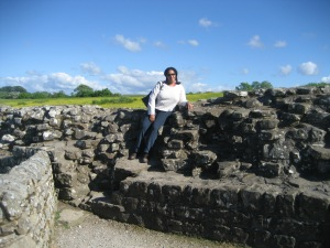 Immersing myself in Hadrian's Wall
