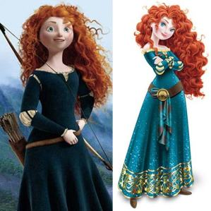 merida full length