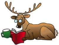 reading reindeer